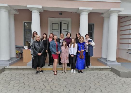 Виступ з концертною програмою в музеї В.Г.Короленка