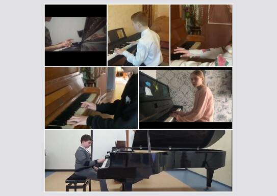Академічний концерт учнів фортепіанного відділу.