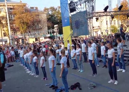 Участь колективу ДМШ №1 ТНТ Барви у святковому концерті присвяченому 30 річниці незалежності України