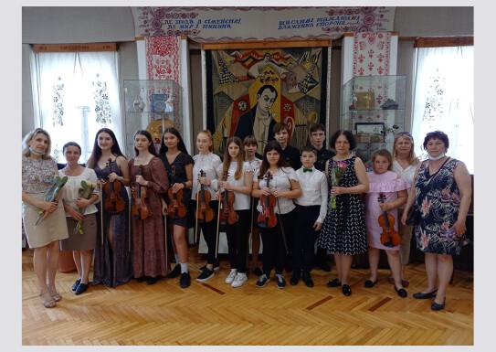 Виступ з музичною програмою в залі музею І.П.Котляревського