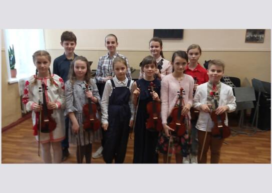 Академічнийконцерт учнів 4-6класіворкестровоговідділу