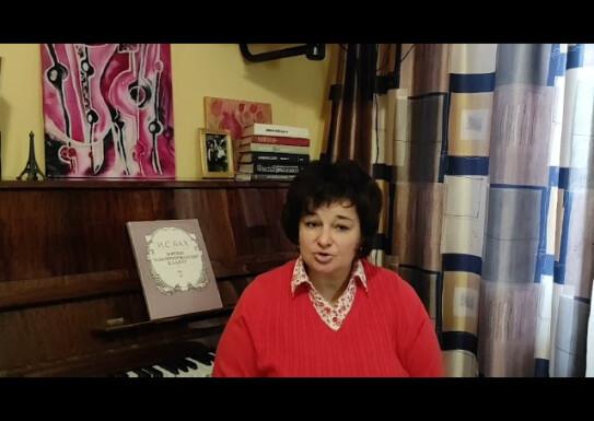 Лекція -розповідь з музичної літератури викладач Лілії Стовбир