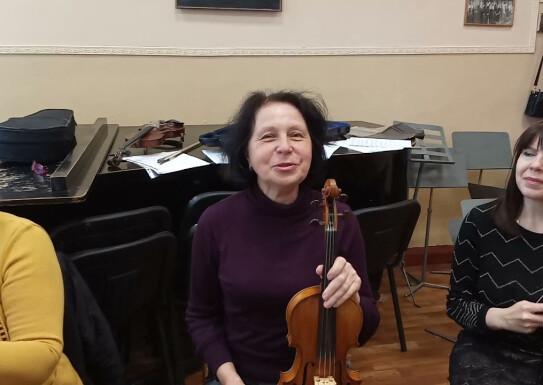 Вступні іспити 29-30 травня Клас скрипки