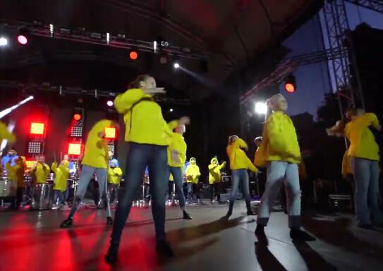 «Живі барабани» і Dj Jedy ТНТ Барви Я люблю Полтаву день міста Полтава 2019