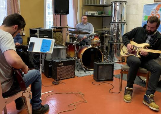 Live Sound Cover Stevie Wonder Superstition викладачі естрадного відділу