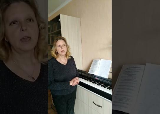 """Лекція майстер- клас з """"Сольфеджіо"""" викладач Олена Парієва"""